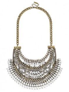Crystal Cleopatra Bib