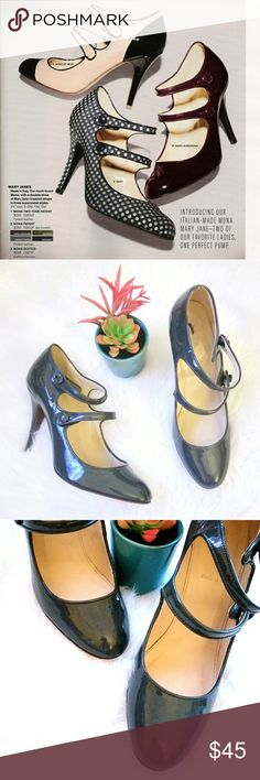 """J.Crew Pumps """"Mona Mary-Jane"""" 