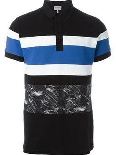 db34ba06 block stripe polo shirt Mens Designer Polo Shirts, Striped Polo Shirt,  Popsicles