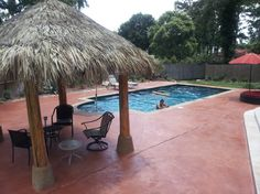 Spring, Texas - Pool Deck Resurfacing.   Repin & Click For More Info or Quote @ Your Home / Business.