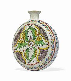 Ottoman Turks, Turkish Design, Red Band, Image Makers, Byzantine, Cherub, Pilgrim, Earthenware, Islamic Art