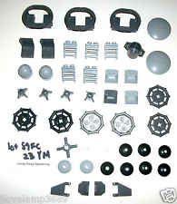 Lego Star Wars Silver Metal 75937 Radar Dish 3960 4588 4175 50745 Crate 6211 lot