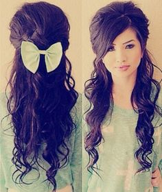 Very cute! This would be good for Lexy for Picture day or even Prom. :)