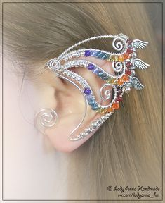 this is so beautiful.... I'm going to have to seriously practice my wire work before attempting this one.