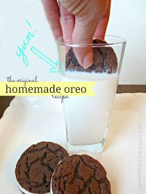 DREAMY Homemade Oreo Cookies - only 3 ingredients.