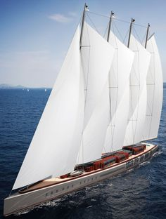Earlier this year, plans were solidified for the construction of Dream Symphony, a 463-foot staysail schooner.