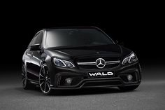 Mercedes-Benz E-Class (W213) Sports Line Black Bison Edition by #Wald #mbhess #mbcars #mbtuning