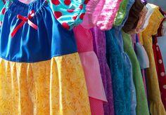 Disney Princess dresses!