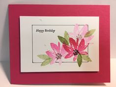 Well, for what started out as an easy card to make, I sure made a mess of it. It really was easy to make and it was even easier to mess u...