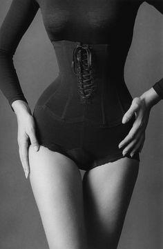 "Jeanloup Sieff. ""Le Corset"". 1962. New York, NY, USA."