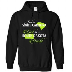 SOUTH CAROLINA-SOUTH DAKOTA girl 02Lime - #tee aufbewahrung #sweater weather. SATISFACTION GUARANTEED => https://www.sunfrog.com/States/SOUTH-CAROLINA-2DSOUTH-DAKOTA-girl-02Lime-Black-Hoodie.html?68278