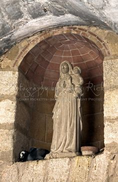 black madonna statue | led them to a grotto and the statue the small statue was too heavy to ...