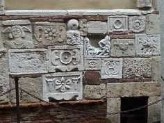 Montepulciano, Etruscan sarcophagus fronts and parts of incinerary urns | Flickr - Photo Sharing!