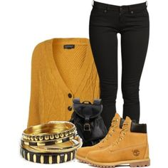 botas timberland outfits moda