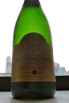 Peillot NV Bugey VDQS Montagnieu Brut - Absolutely spectacular sparkler from the Savoie region of France