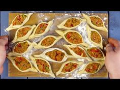 Hungry For Something Awesome? Dim Sum, Bon Ap, Foil Pack Dinners, Puff Pastry Recipes, Evening Snacks, Party Buffet, Lamb Recipes, Quesadillas, Iftar