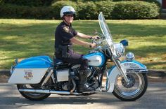 1966 Police Harley-Davidson Restored by late Lt. Tommy Menton. RIP Tommy
