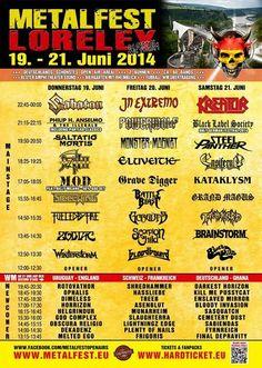 Metalfest Festivals, Tours, Metal, Travel Destinations, Travel