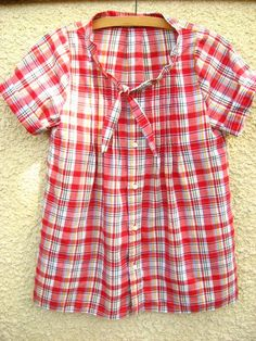 refashioned mens shirts for for women | Wardrobe Refashion: Men's to Woman's Shirt