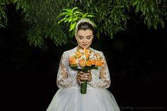 Casamento Elaine & Jean ( Cerimônia noturna ao ar livre) Hortolândia SP Vanessa Qualtieri Fotografia