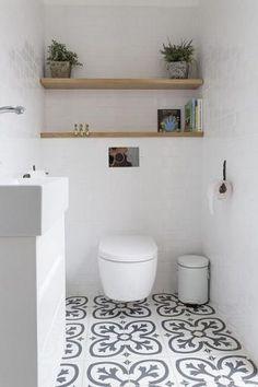 Wood Bathroom, Bathroom Kids, Bathroom Layout, Basement Bathroom, Bathroom Interior, Modern Bathroom, Small Bathroom, Bathroom Flooring, Bathroom Shelves