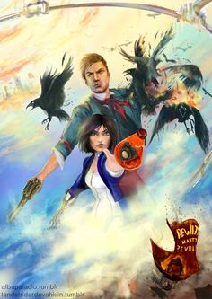 Bioshock Infinite by AlbaPalacio