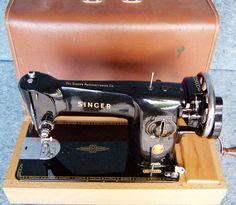 1954 Singer 201 Aluminum