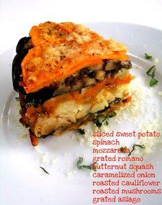 Winter Vegetable Torte - (Free Recipe below)