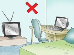 Keep your bed away from any TV's, desks, or other distractions.