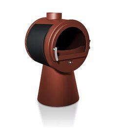 Le poêle à bois Otentic est fabriqué en France. Avec un choix de pieds et de couleurs personnalisez votre appareil de chauffage à vos envies.
