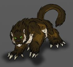 Fearsome Critter Glawackus by Scatha-the-Worm.deviantart.com on @DeviantArt