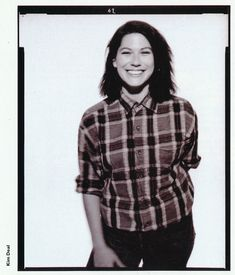Kim Deal. Boyish-but-not-quite. 'The Last Splash' by her band The Breeders was the second abum I ever bought (the first being Massive Attack's Blue Lines). It must be great to have a few beers with her.