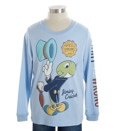 Jiminy Cricket Tee - Peek + Disney - Browse - new arrivals | Peek Kids Clothing