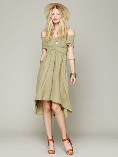 Love this: Smocked Hilow Dress @Lyst