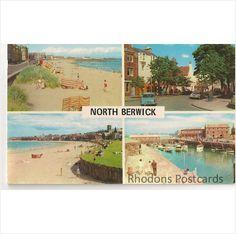 Vintage Postcard - Scotland - North Berwick Multiview - 1960's on eBid United Kingdom