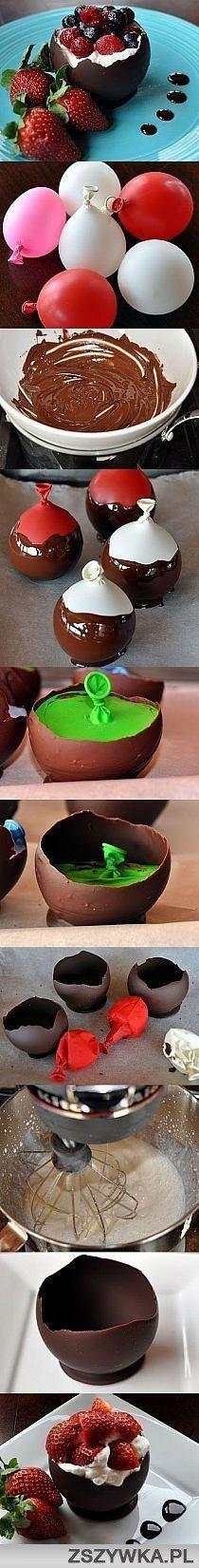 elegant and sweet dessert idea