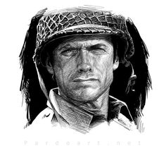 Clint Eastwood by pardoart on DeviantArt Kyle Eastwood, Clint Eastwood Quotes, Alison Eastwood, Francesca Eastwood, Kelly's Heroes, Frances Fisher, Demolition Man, Celebrity Couples, Great Movies