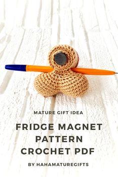 Handmade Ideas, Etsy Handmade, Handmade Crafts, Funny Crochet, Crochet Humor, Diy Crafts Crochet, Crochet Projects, Knitted Animals, Single Crochet Stitch