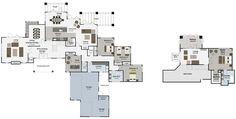 Te Anau 5 bedroom house plan Landmark Homes builders NZ
