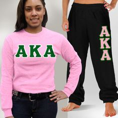 Alpha Kappa Alpha Longsleeve Sweatpants