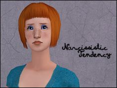 """Ghanima's """"Narcissistic Tendency"""" edit of Carnaby Sims's hair made Maxis match. Ghanima Atreides retexture (Nouk'd), recoloured in all of Simgaroop's colours. Teen, adult & elder. Binned, familied,..."""