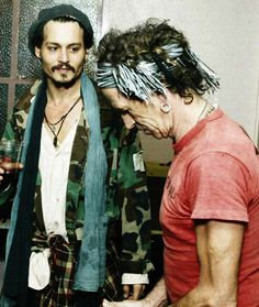 Keith Richards and Johnny Depp                                                                                                                                                                                 More