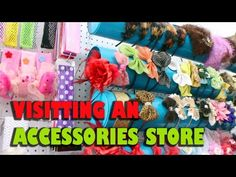 Store Tour: Accessories stores in Turkey - YouTube