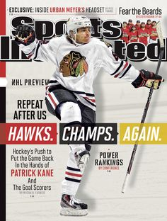 Repeat after us... Blackhawks. Champs. Again.