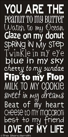 Love of my life. Spring in my step. Twinkle in my eye: Blue in my sky. Sweet in my dreams. Beat of my heart. Best to my friend. Love of my life. Cute Quotes, Great Quotes, Quotes To Live By, Funny Quotes, Inspirational Quotes, Drake Quotes, Baby Quotes, It Goes On, Love And Marriage