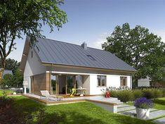 My House Plans, Small House Plans, Small House Design, Modern House Design, Mid Century Exterior, Thai House, Rural House, Weekend House, Modern Barn