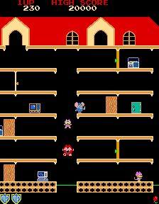 I loved Mappy!  Crime-fighting mouse extraordinaire!