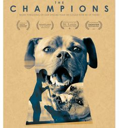 The Champions is an inspirational story about the pit bulls rescued from the brutal fighting ring of former Atlanta Falcon's star quarterback Michael Vick, and the organizations who risked everything to save them. Rescue Dogs, Animal Rescue, John Garcia, Image Internet, Michael Vick, Animal Society, Dog Fighting, Pit Bull Love, Documentary Film