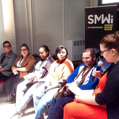 Self-esteem in the Age of Selfies: A Panel on Confidence and Body Positivity in the Technology World. #smwito #selfies #bodyimage #conferences #socialmedia #shaming #bodypositivity #empowerment #insecurity #beauty #empowerment #branding #accessibility #socialmediaweek #smw #fat #plussize  @smwitoronto