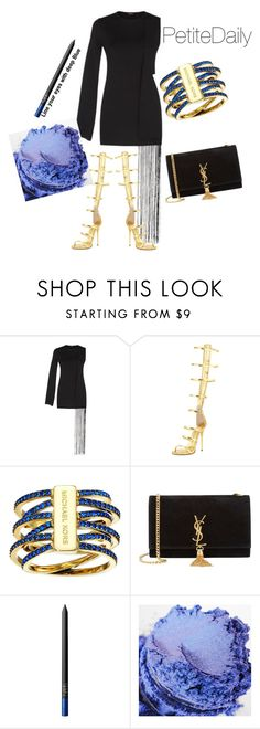 """""""PetiteDaily Dressed up in the City"""" by dressmeriece on Polyvore featuring Giuseppe Zanotti, Michael Kors, Yves Saint Laurent and NARS Cosmetics"""